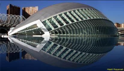 دانلود پاورپوینت طبیعت، منبع الهام سازه های معماری